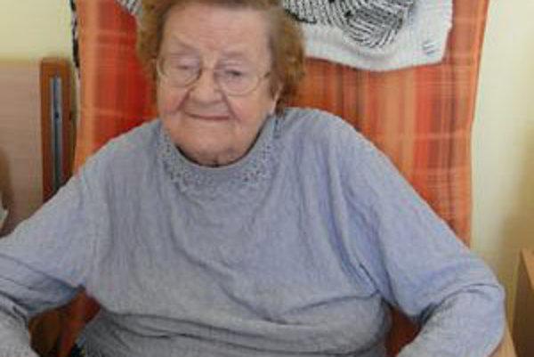 Helena Wilde-Kordová mala ťažký život. Pred štyrmi rokmi sa vrátila z Anglicka, dnes býva v Domove dôchodcov v Martine.