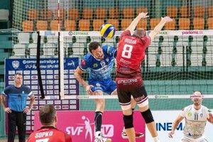 Milan Bencz bol včera podľa očakávania najväčšou útočnou hrozbou tímu VKP SPU Nitra.