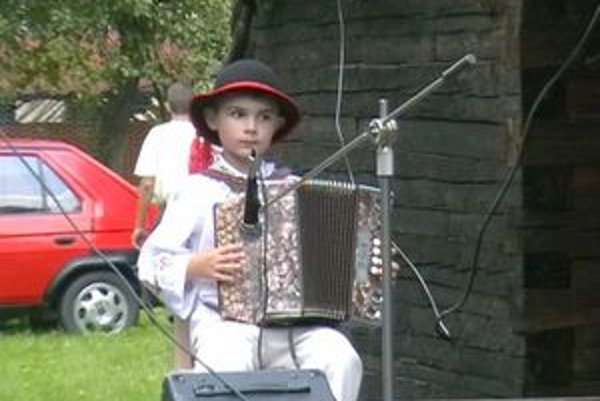 Najmladším účastníkom bol šesťročný Matúško Hodas.