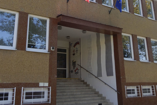 Knižnica pre nevidiacich v Levoči.