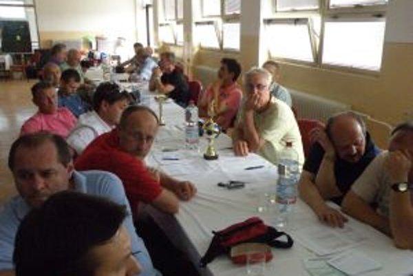 Účastníci aktívu ObFZ v Bolešove.