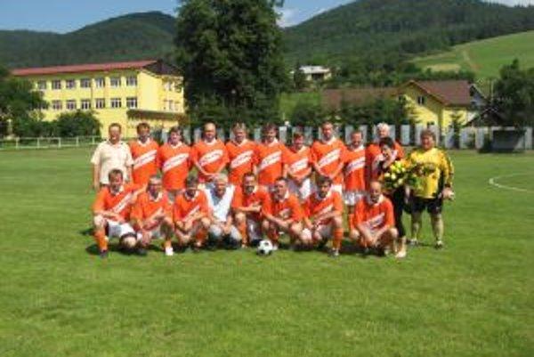 Víťazi turnaja - Spartak Lysá pod Makytou.