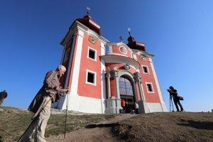 Horný kostol po obnove.