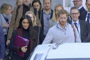 Britský princ Harry s manželkou Meghan pricestovali v pondelok do Sydney.