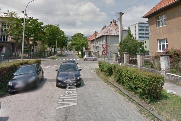 Ulica V. P. Tótha v Martine.