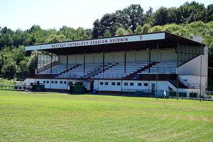Futbalový štadión vo Svidníku.