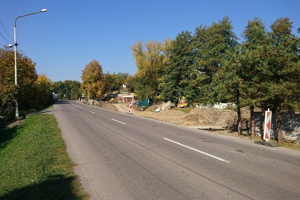 Veľký zásah je aj v časti Žarnovická Huta.