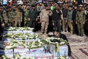Útok na prehliadku v meste Ahváz si minulý mesiac vyžiadal 25 obetí na životoch.