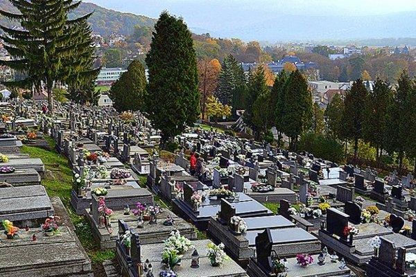 Cintorín v Humennom.