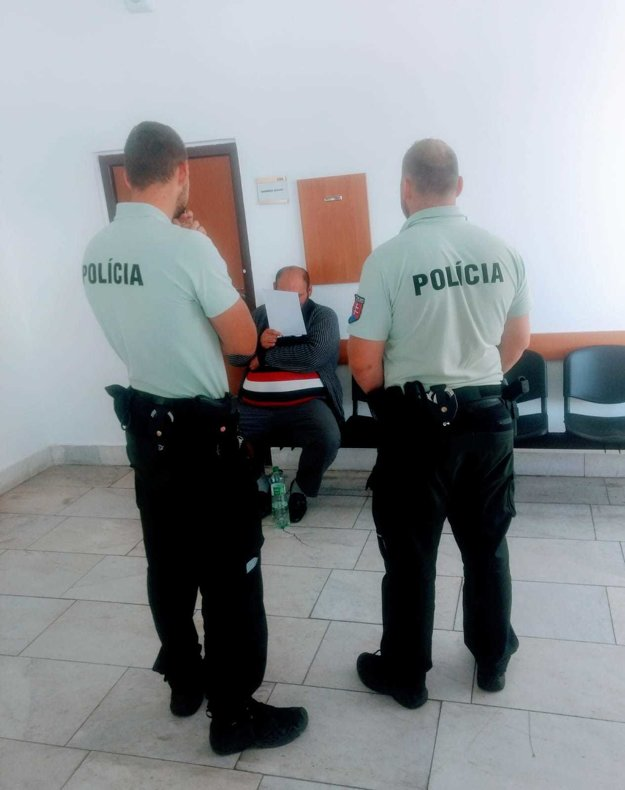 Policajti obvinili skupinu ľudí z krádeže.