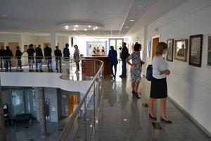Z výstavy zbierky Milana Belása.