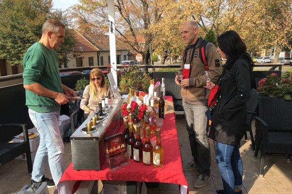 Deň vínnych pivníc v Trnave.