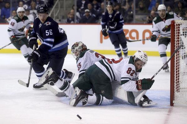 Marko Daňo (56) ešte v službách Winnipegu Jets.