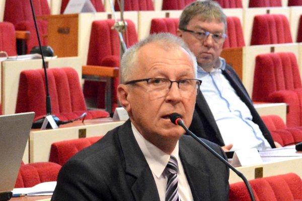 Krajský poslanec Štefan Staško (nezávislý).