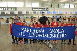 Víťazi McDonald´s Cupu zo Základnej školy Novomeského Trenčín.