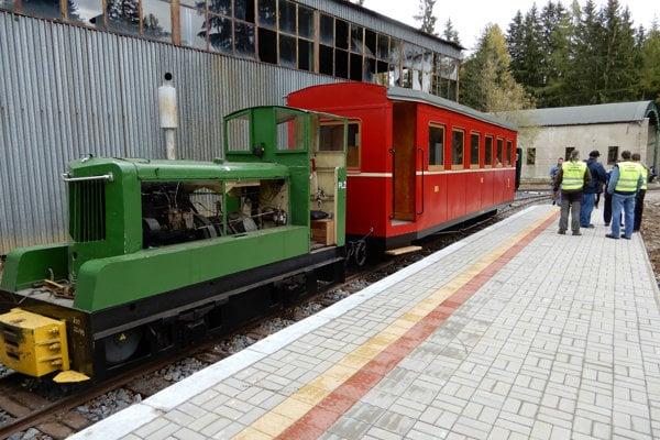 Návštevníkov budú voziť v zrekonštruovanom vozni.