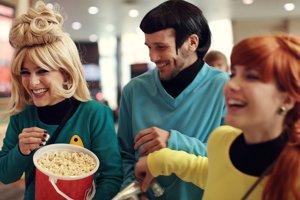 Najväčšiu základňu má fanfiction medzi fanúšikmi sci-fi, fantasy, anime alebo mangy. Na snímke nadšenec s účesom Spocka zo Star Treku.