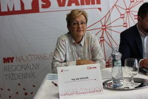 Ida Gálová, Ing., 59 r., živnostníčka, Komunistická strana Slovenska