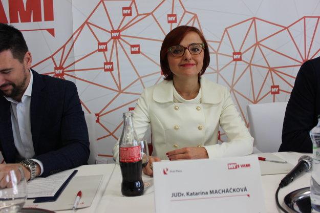 Katarína Macháčková, JUDr., 48 r., primátorka mesta Prievidza, Spolu - občianska demokracia