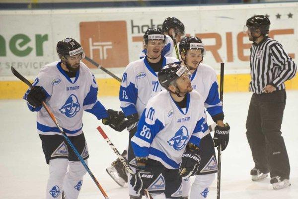 Martinským hokejistom vyšiel vstup do súťaže na výbornú.