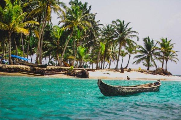Pobrežie a okolité ostrovy Panamy