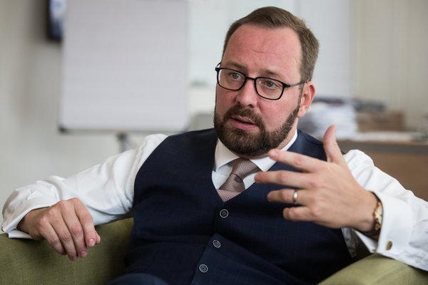 Šéf NCZI Peter Blaškovitš.