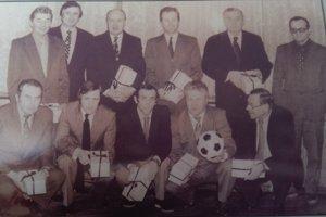 Najlepší prešovskí futbalisti 10950 - 1983 podľa čitateľskej ankety Prešovských novín.