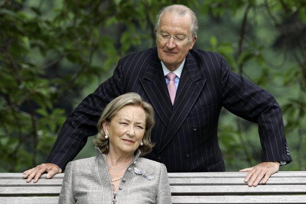 Albert II. s manželkou.