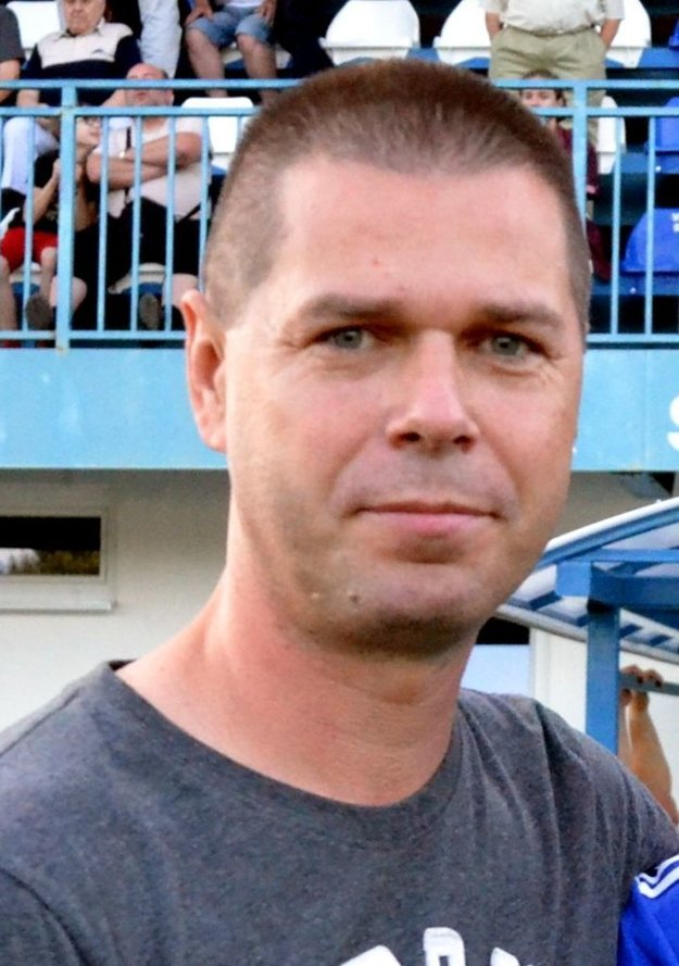 Peter žabka, tréner Žabokriek.