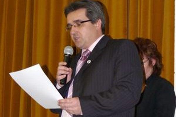 Ilavský primátor Štefan Daško.