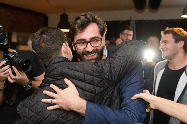 Nový primátor Nitry Marek Hattas.