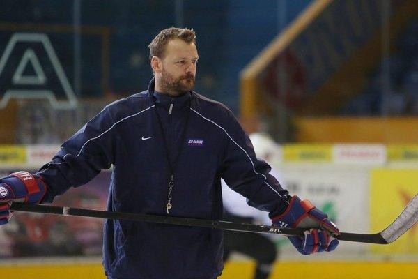 Tréner Andrej Podkonický.