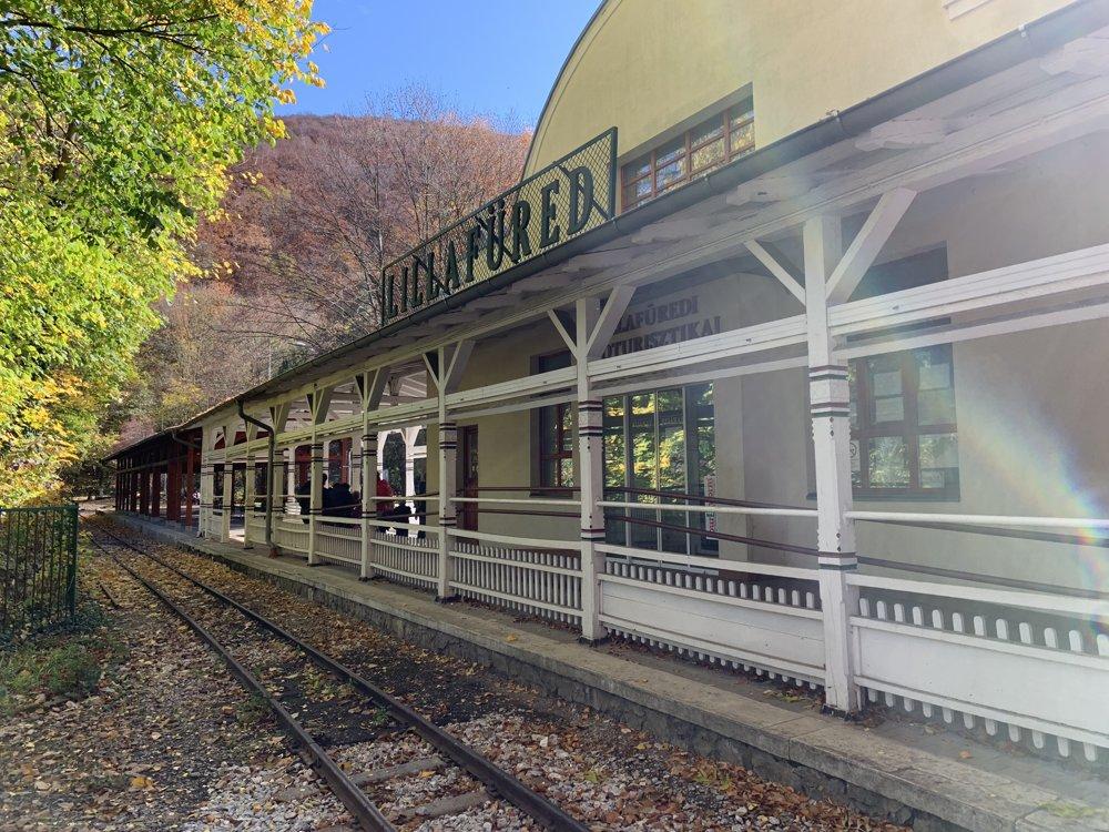 Historická železnica v Lillafürede