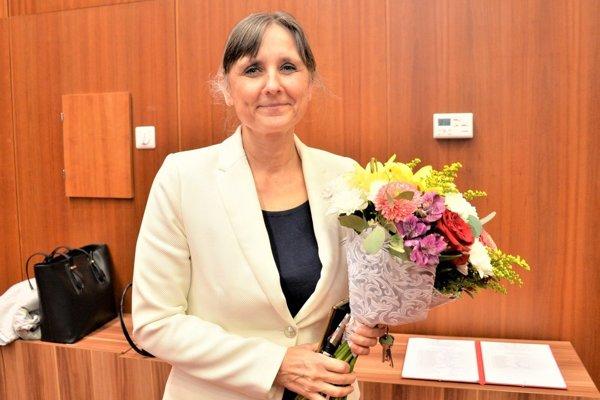 Andrea Čalkovská, nová dekanka Jesseniovej lekárskej fakulty v Martine.
