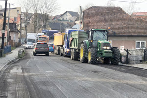 Vodiči musia počas prác strpieť dočasné obmedzenia v doprave.