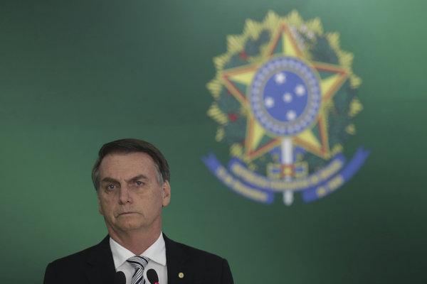 Jair Bolsonaro, brazílsky prezident.