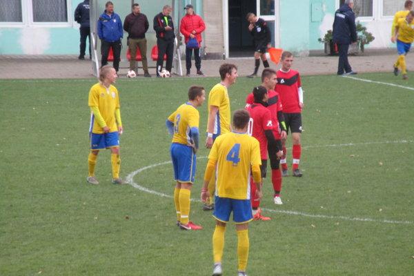 Zo zápasu dorastencov U19 Rimavskej Soboty.