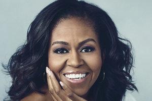 Michelle Obama na obálke knihy Becoming