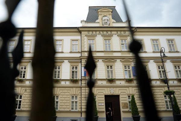Budova Ústavného súdu v Košiciach.