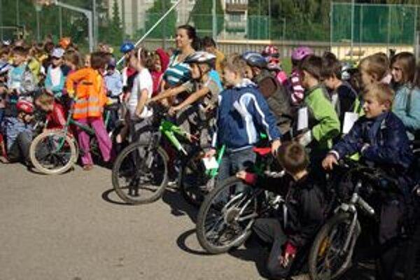 Žiakom sa dopravná výchova páčila.