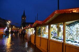 Vianočné trhy v Prešove 2018.