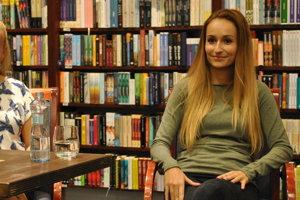 Lucia Sasková predstavila svoj nový román.