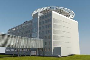 Heliport mal korešpondovať s prepojovaním nadzemným tunelom, ktorý tiež projektovala spoločnosť Atrium.