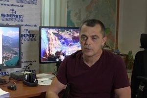 Meteorológ Pavel Beránek.