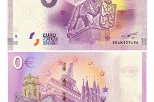 Nulová bankovka venovaná 100. výročiu ČSR.