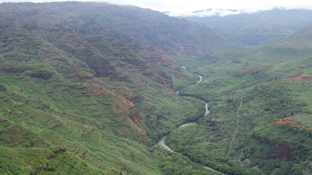 Východná časť Waimea kaňonu