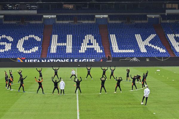 Štadión Schalke 04 Gelsenkirchen.