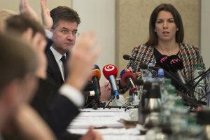Na zasadnutí parlamentného výboru 21. novembra 2018 v Bratislave.