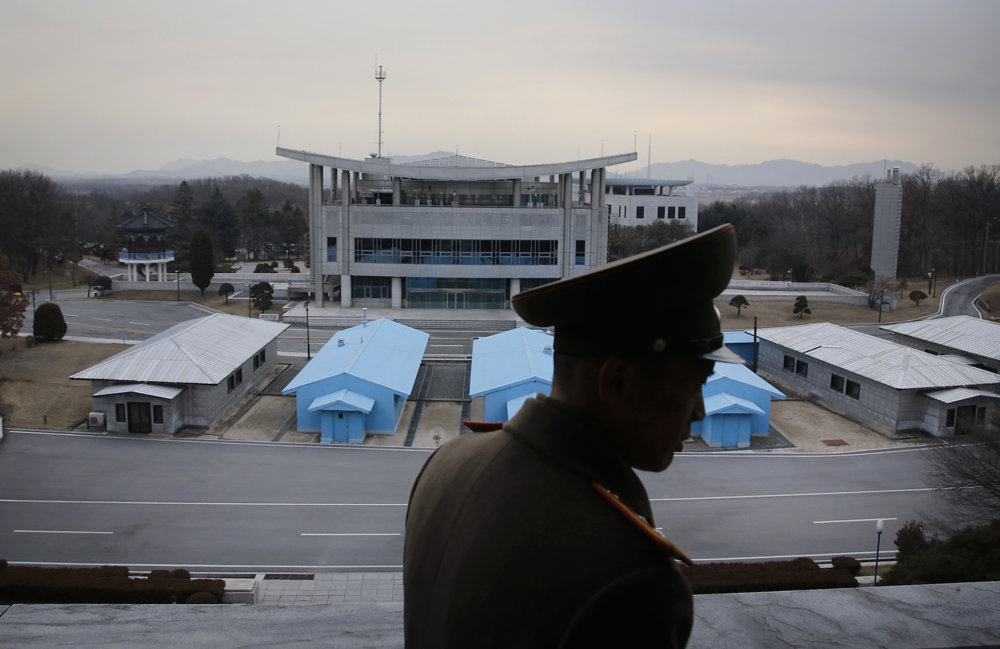 Silueta podplukovníka kórejskej ľudovej armády Nam Dong Ho.