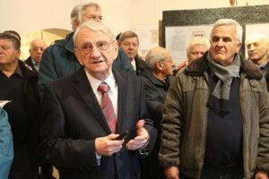 Jozef Oško, predseda liptovskomikulášskeho klubu filatelistov, ktorý výstavu pripravil.